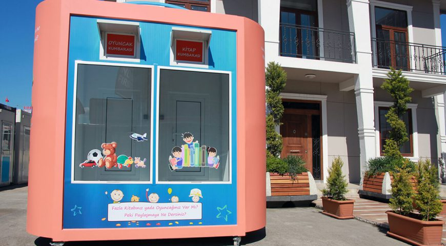 Toys and Book Box from Hebo Yapı