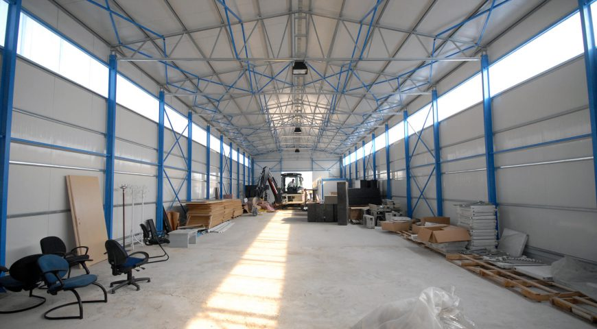 Steel Structure 1000 m2-0