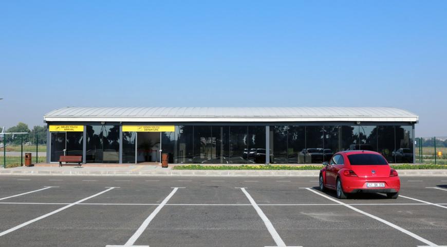 Yunuseli Airport Passenger Terminal Opened to Service