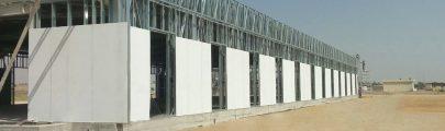 Lightweight Steel Sports Hall Building